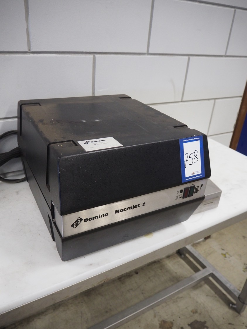 Domino Inkjet Printers Food Processing Online Auction Food