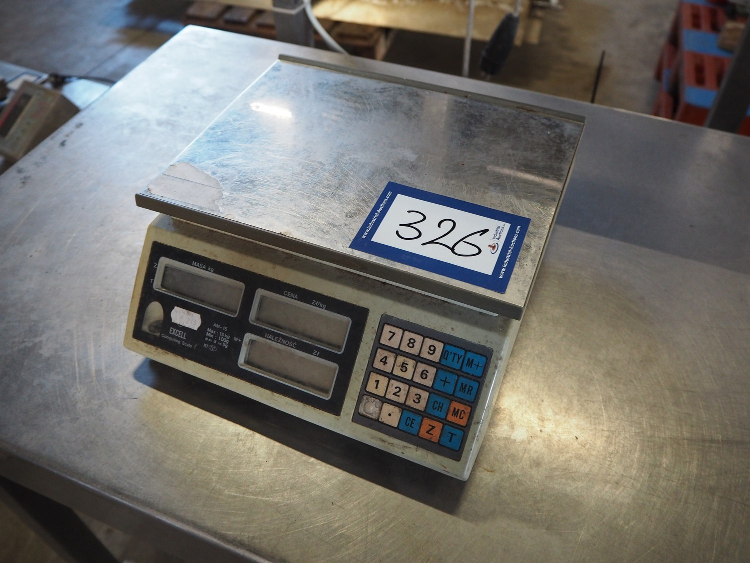 excell weighing scales slaughtering technology online auction