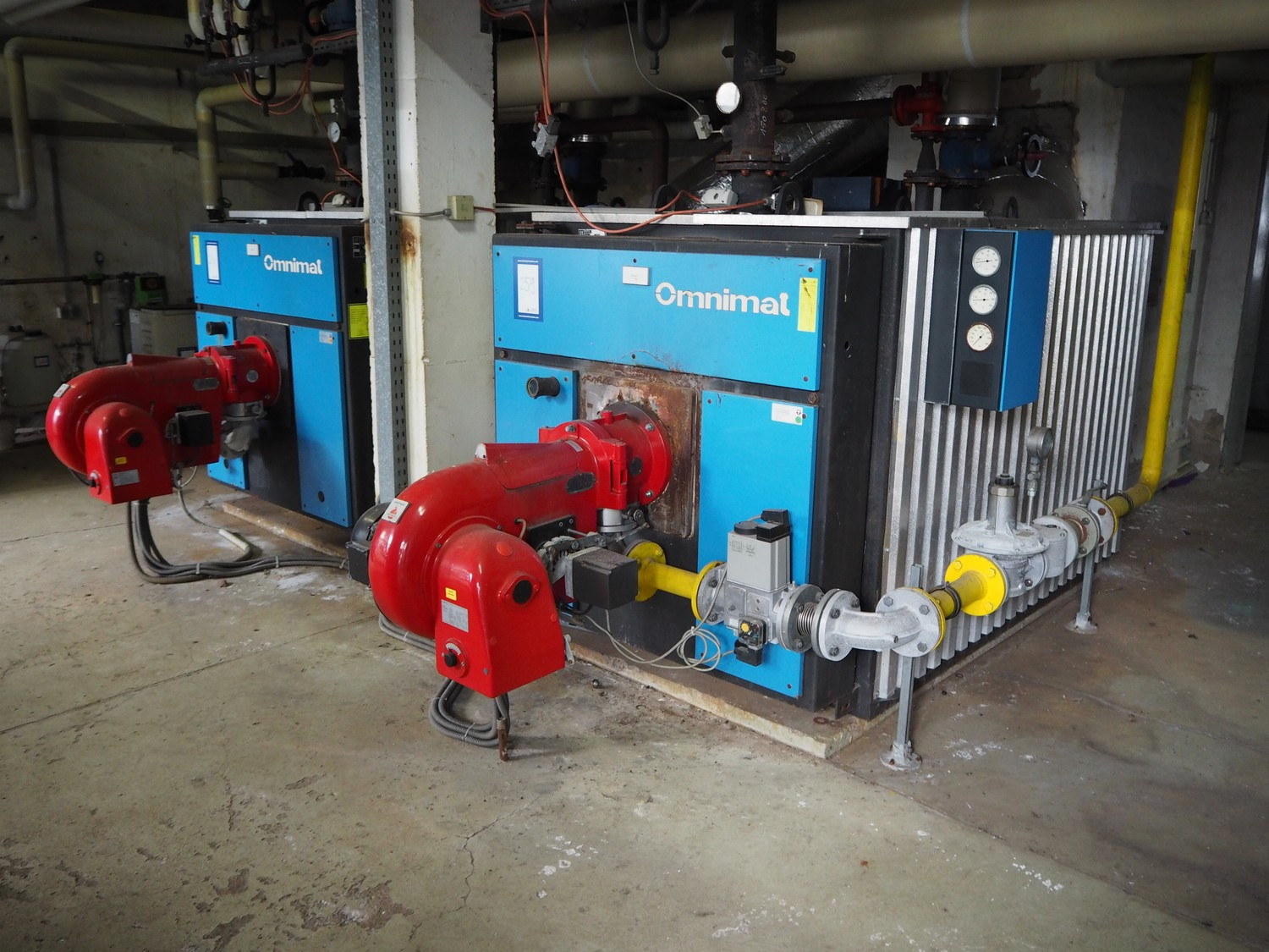 Combination: Omnical / Buderus boiler installation for the complete ...