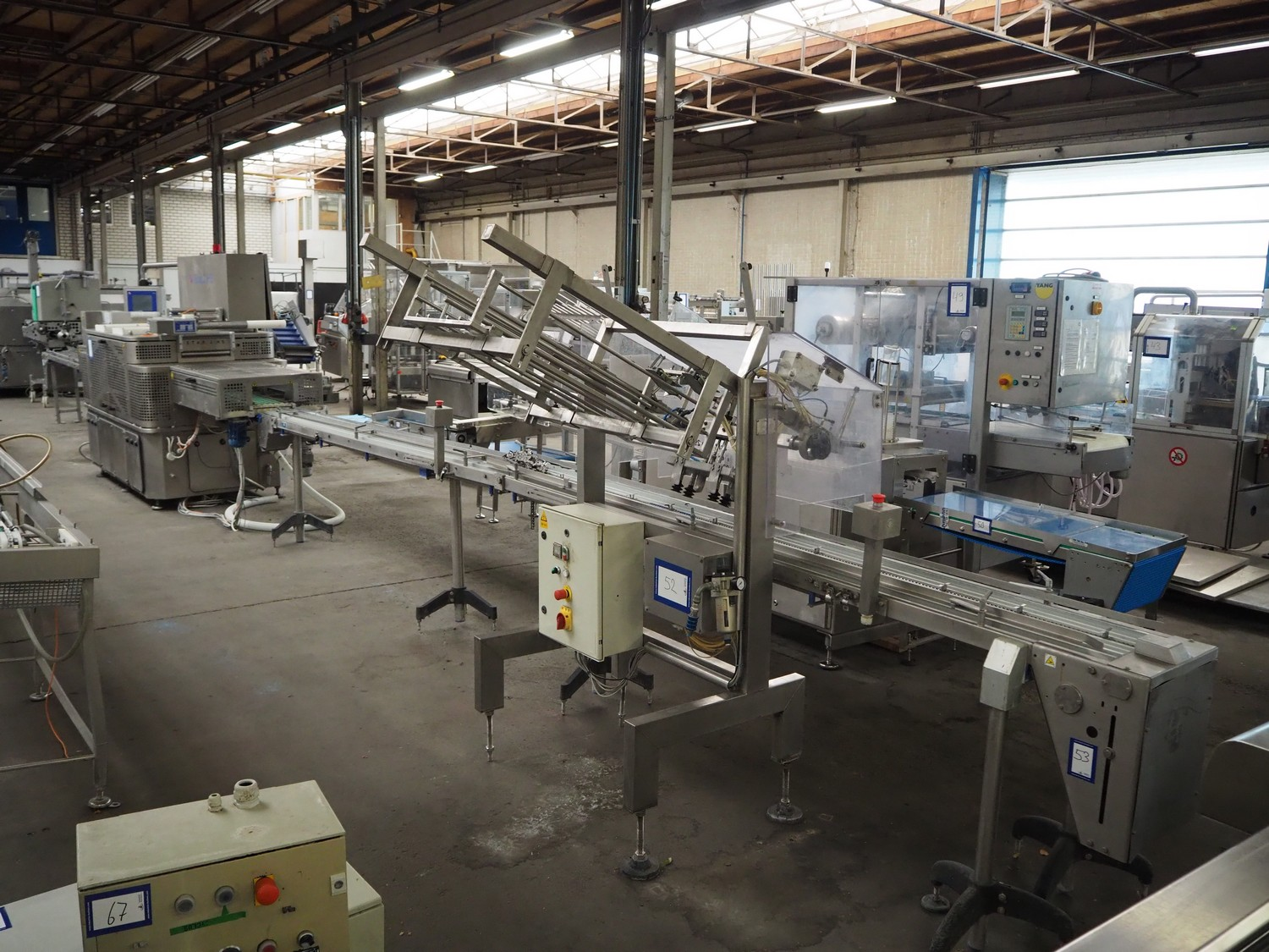 CFS - Traysealers - Food processing - Online auction